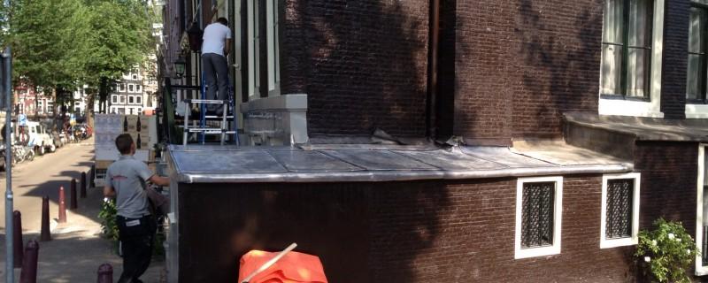 Loden dakbedekking vakwerk | Gofilex dakbedekker Haarlem Amstelveen Amsterdam e.o.